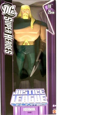 Buy Low Price Mattel DC Super Heroes 10 Inch Aquaman Justice League Unlimited Action Figure P/n K9387 (B000VNY3ZE)