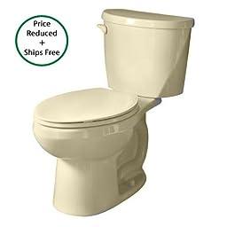 American Standard 2426.012.021 Evolution 2 Round Front Two-Piece Toilet, Bone