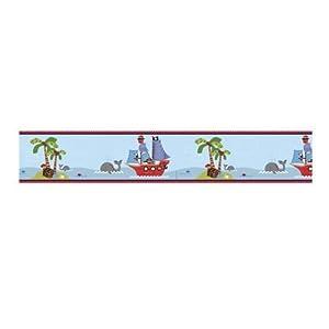 Bedtime Originals Treasure Island Wallpaper Border, Home Improvement Tool from Bedtime Originals