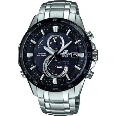 Casio EQW-A1400DB-1AER - Reloj de pulsera Hombre, Acero inoxidable, color Plata