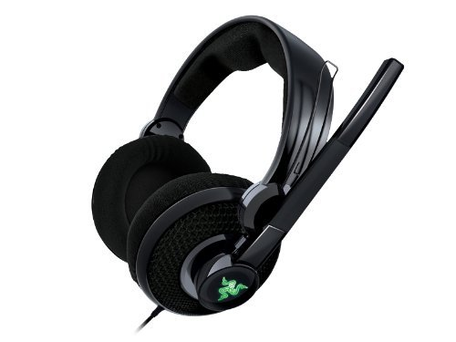 Razer Carcharias Over Ear Gaming Headset For Xbox 360/Pc And Music With Boom Mic - Factory Refurbished