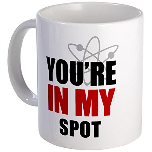 Cafepress Big Bang Theory Mug - Mega White