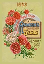 Paper poster printed on 20 x 30 stock. Rawson\'s Vegetable and Flower Seeds