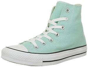 Converse Ctas Season Hi 015850-550-15, Damen Sneaker, Grün (Vert d'Eau), EU 37