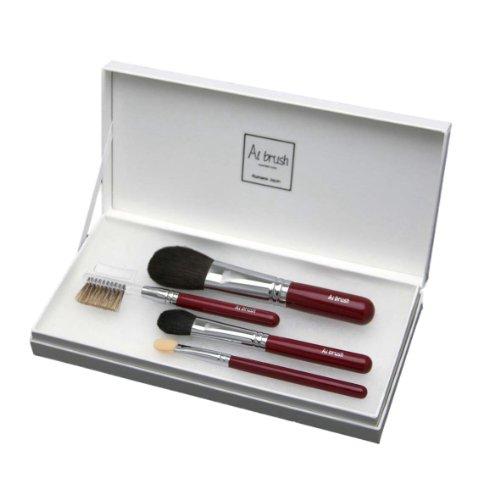 伝統工芸品 熊野筆 化粧ブラシセット 4本 ビギナーズセット