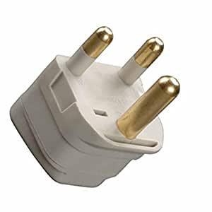 Grounded Adapter Plug US to South Africa and Older Parts of Ireland GUE CE Certified