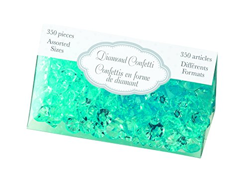 Lillian Rose Diamond Confetti, Aqua