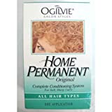 Ogilvie Home Permanent Original Complete Conditioning System for Soft Shiny Curls All Hair Types (Pack of 3)