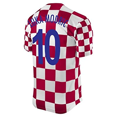 LUKA MODRIC #10 Croatia Home Jersey (S)