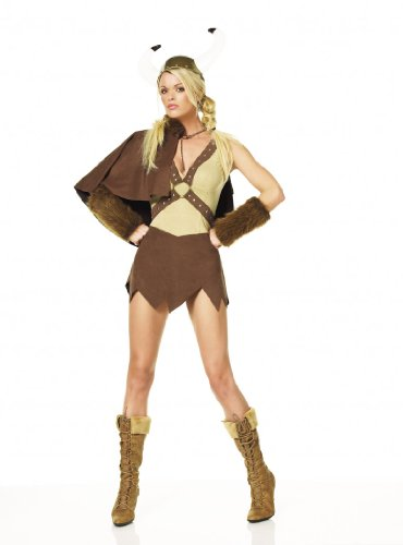 Viking Sexy Womens Adult Costume Small Medium Large