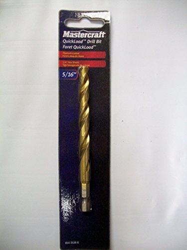 Mastercraft QuickLoad Drill Bit 5/16