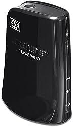 TRENDnet 450 Mbps Dual Band Wireless N USB Adapter TEW-684UB (Black)