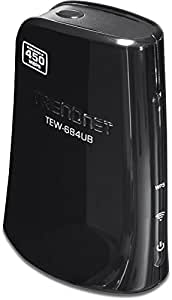 TRENDnet Wireless N 450 Mbps Dual Band USB 2.0 Adapter, TEW-684UB