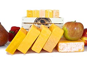 Cheddar Flight Gift Crate by Wisconsin Cheese Mart