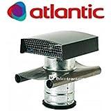 atlantic sortie de toiture vmc 125 mm m tallique pour tuile rouge luminaires et. Black Bedroom Furniture Sets. Home Design Ideas
