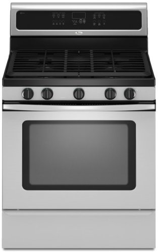 Whirlpool : GFG471LVS 30in Freestanding Gas Range with 5 Sealed Burners Stainless Steel