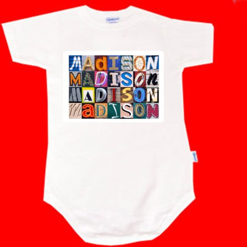 Personalized Onesies For Babies front-703500