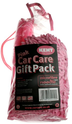 Kent P444 Car Care Gift Bag in a Duffle Bag (Pink)