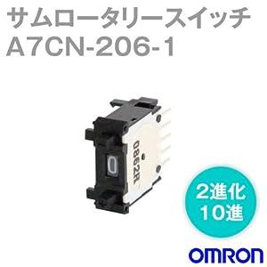 オムロン(OMRON) A7CN-206-1 (黒) ( 出力コード番号:2進化10進) サムロータリスイッチ ( ワンタッチ取りつけ(表面取りつけ)) NN