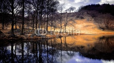 """Wallmonkeys Peel and Stick Wall Decals - Lake District National Park Cumbria England Uk - 24""""W x 13""""H Removable Graphic"""