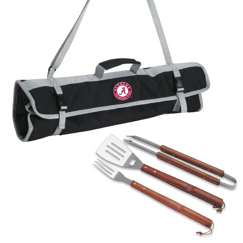 Alabama Crimson Tide 3-Piece BBQ Tote
