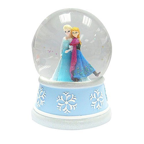 Frozen Elsa & Anna Musical Snow Globe (Plays Let It Go)
