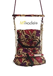 Mikadelo Soft Cusioned Baby Swing/Hammock With Poly-Fiber Filling For Indoor/Outdoor