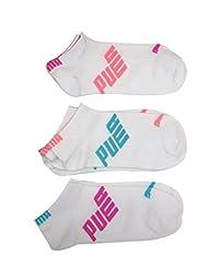 Puma Women's 6 Pack Half-Terry Runner Socks