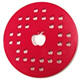 Norpro 3259 Apple Pie Top Cutter 10-Inch Red