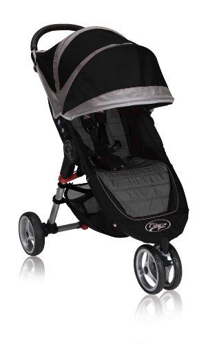 Baby Jogger City Mini individual, negro/gris