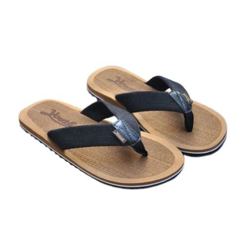 Toptie Fashion Men'S Sandals On Flat, Summer Flip Flops Camel-L