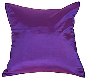 Solid Purple Decorative Pillows : Amazon.com: Artiwa 16