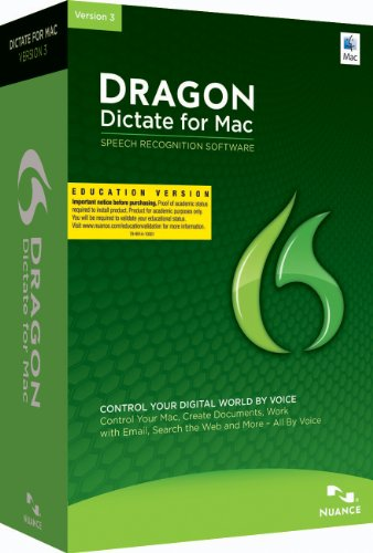 Dragon Dictate 3.0: Educational Online Validation Program (Mac)