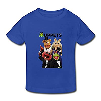 FUNSHINBABY Kid's Toddler The Muppets Poster Age 2-6 T-shirt