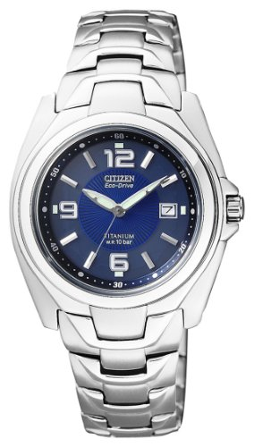 Watch Citizen Super Titanium Ew0910-52m Women´s Blue