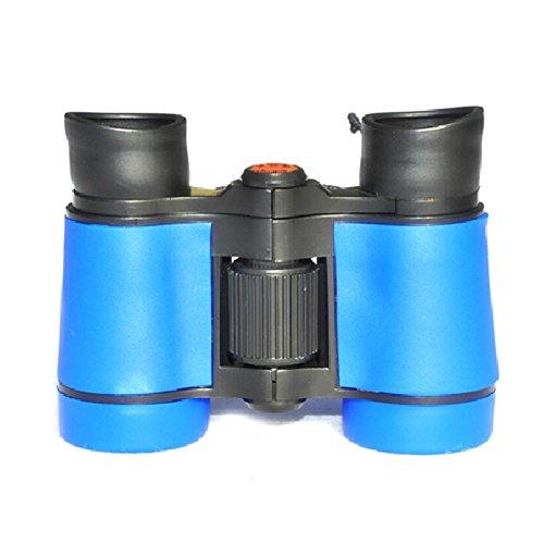Beileshi 8B-5 4X35 Hd Compact Climbing Kids Watching Mini Binoculars Telescope(Light Blue)