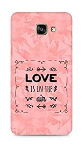 Amez Love is in the Air Back Cover For Samsung Galaxy A7 2016