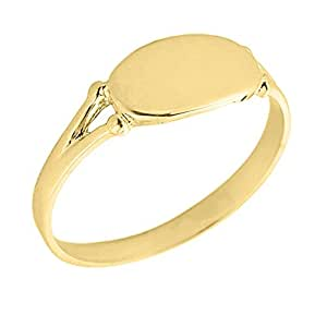 s 10k yellow gold signet ring jewelry