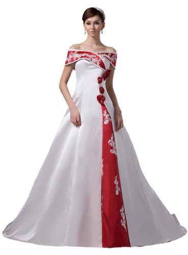 Red and White Wedding Gowns - Lots of Wedding Ideas.com