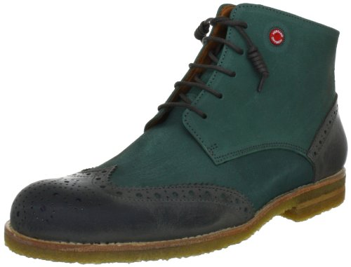 NOBRAND Trivor 975642.11, Stivaletti uomo, Verde (Grün (green/grey 9987)), 40