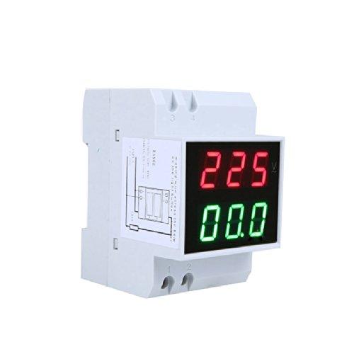 Medidor voltímetros digital