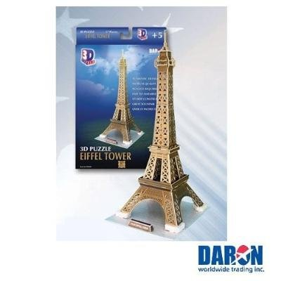 Cheap Cubic Fun Eiffel Tower 3D Puzzle Paper Model (B002MPTFF2)