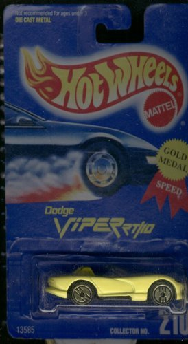 Hot Wheels Yellow Dodge Viper RT/10 #210 Gold Medal Gold Ultra Hots 1:64 Scale - 1