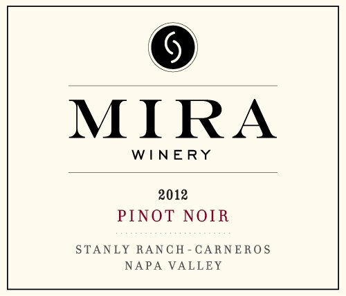 2012 Mira Winery Stanly Ranch Vineyard Carneros Pinot Noir 750 Ml