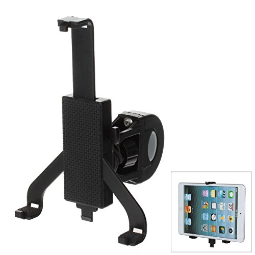 SYRINX High Quality 360 Degree Rotation Exercise Bike Handlebar Mount/ Holder /Bracket / Back Clamp tablet stand for Apple Ipad 2, 3, 4, Air and Ipad Mini Tablets  C68 7