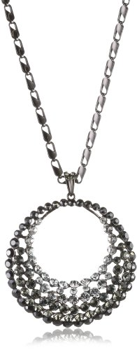 Schmuck-Art 27724 42.0 centimeters  Palladium Necklace with Pendant