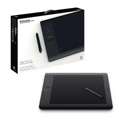 Wacom プロフェッショナルペンタブレット ワイヤレスキット付属 Lサイズ Intuos5 touch PTH-850/K0