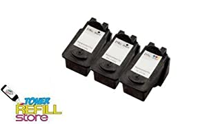 Compatible Black and Color Canon PG-210XL and CL-211XL (2 Black, 1 Color)