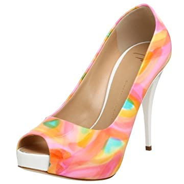 Giuseppe Zanotti Women's E96183 Open Toe Platform