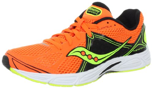new concept 7f1df cd3d9 Saucony Men s Fastwitch 6 Running Shoe,Orange Black Citron,12.5 M US